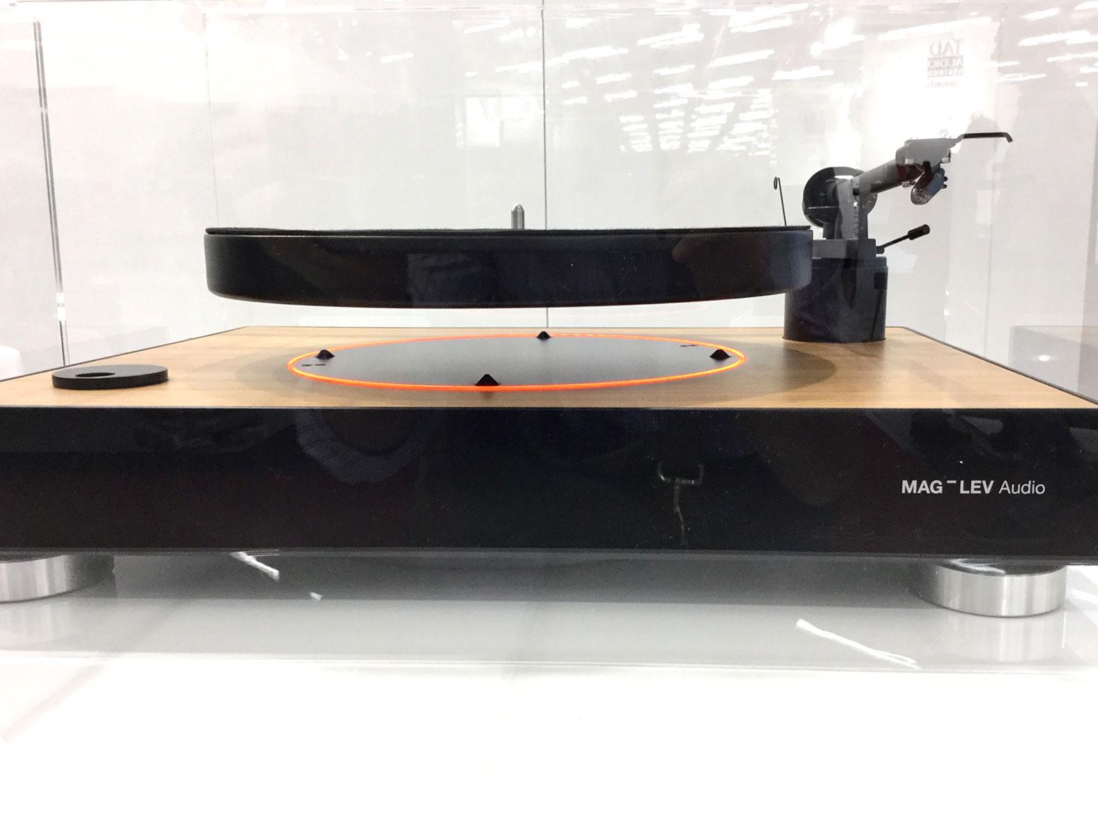 Mag Lev Audio, schwebender Plattenteller