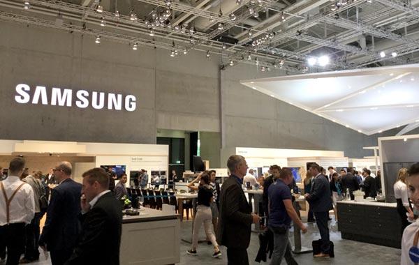 Samsung-Halle auf der IFA