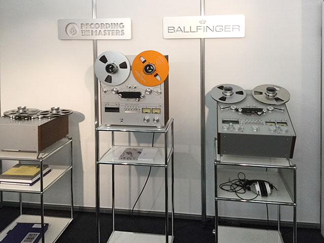 Ballfinger Tonbandmaschinen