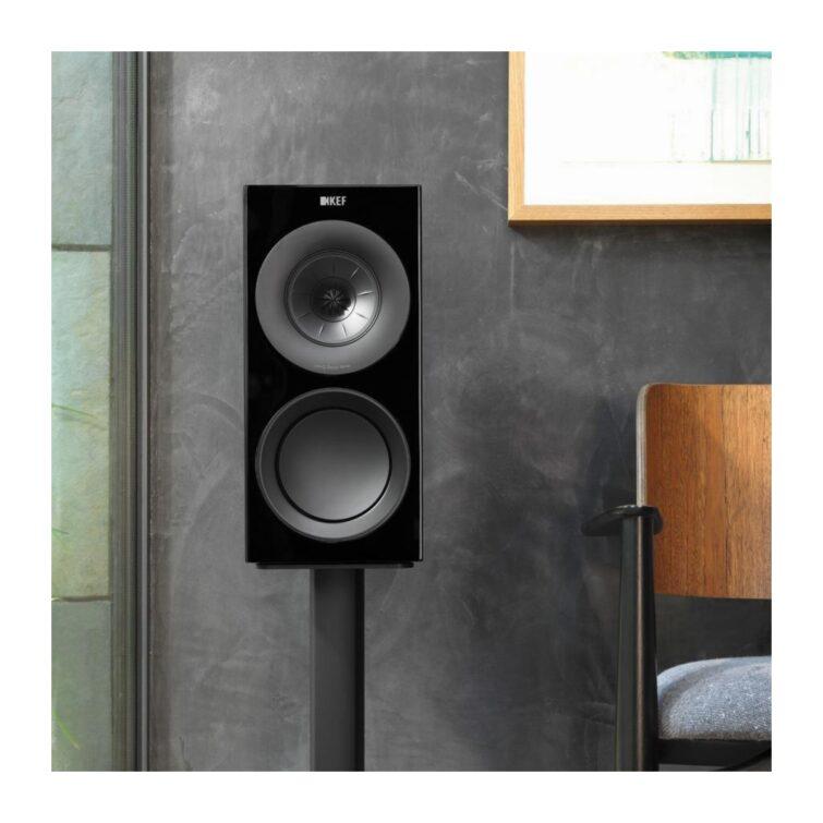 KEF R3 schwarz Produktbild 3