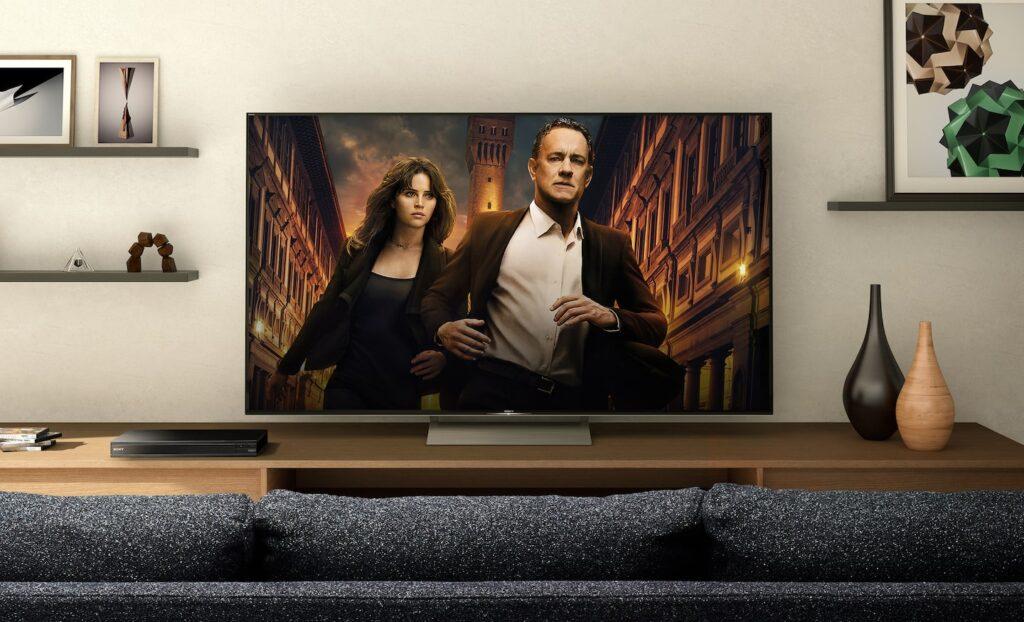 Sony UBP-x800 M2 Film auf Wohnzimmer Fernseher