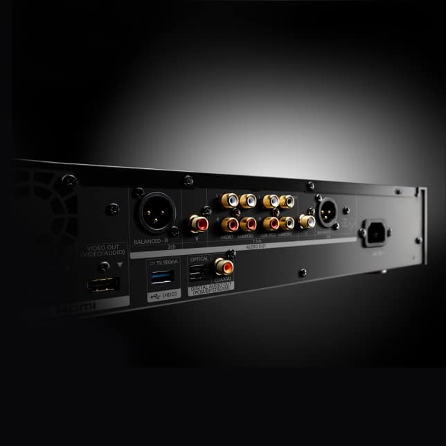 Panasonic Blu-Ray-Player Audio Anschlüsse