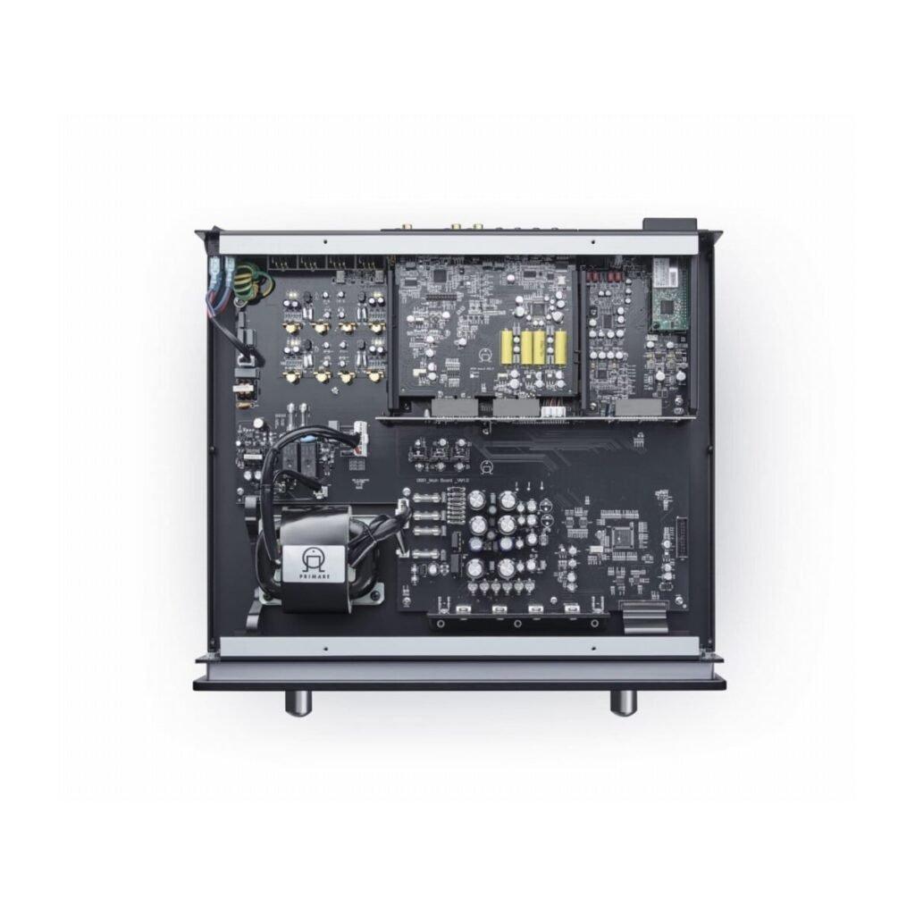 Primare PRE35 DAC Vorverstärker Von oben geöffnet