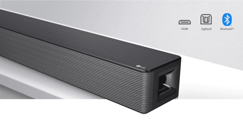 LG DSN5 Soundbar Verbindung