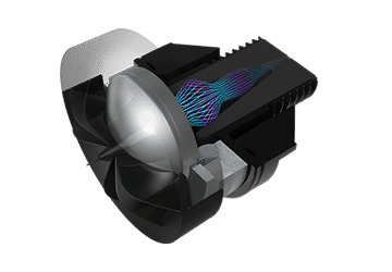 KEF Q50a der optimierte Hochtöner