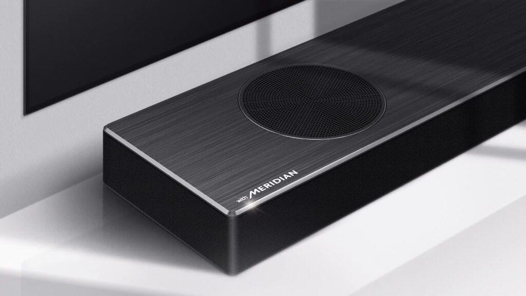 LG DSPD7Y soundbar Meridian