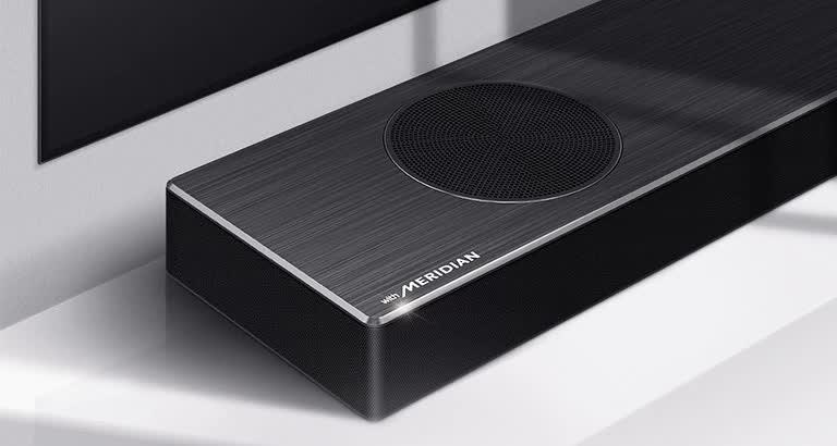 LG DSP9YA Soundbar Meridian Klein 1